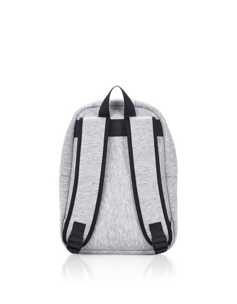 All-over print fabric backpack for girls