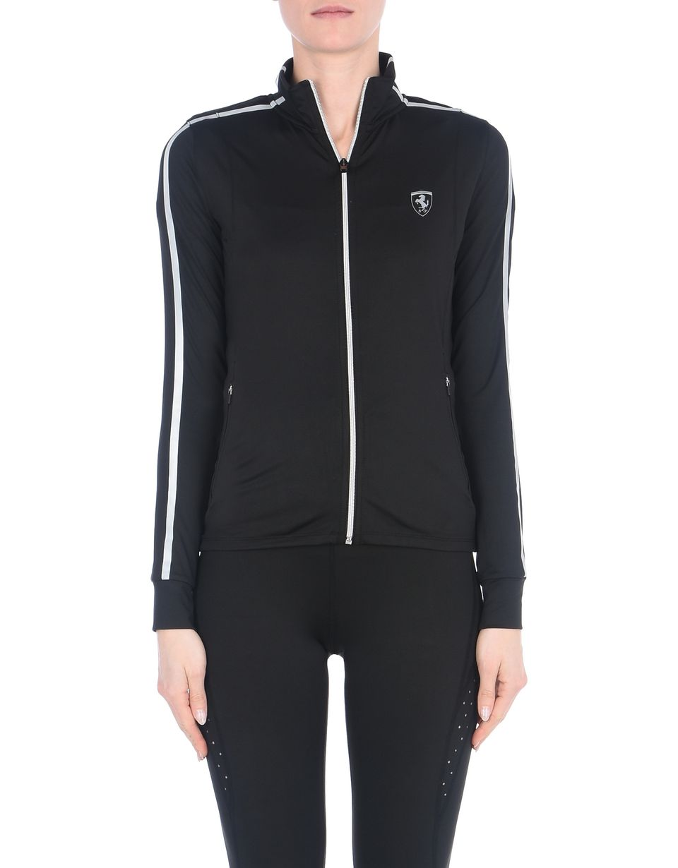 Scuderia Ferrari Online Store - Women's running sweatshirt in breathable fabric - Zip Jumpers