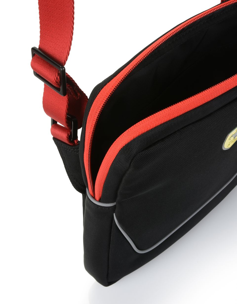 Scuderia Ferrari Online Store - Crossbody bag with contrasting color details -