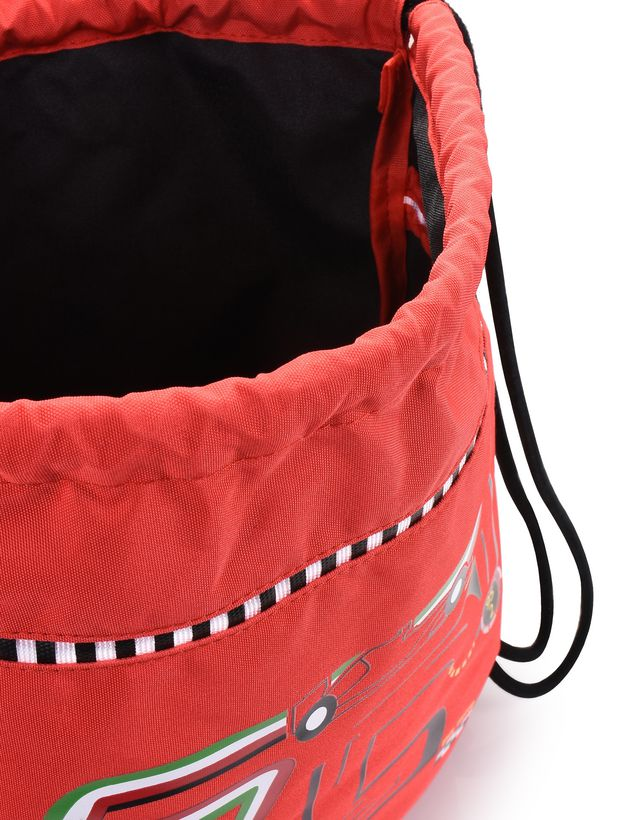 Scuderia Ferrari Online Store - 儿童 F-Racing 双肩包 - 抽绳包袋