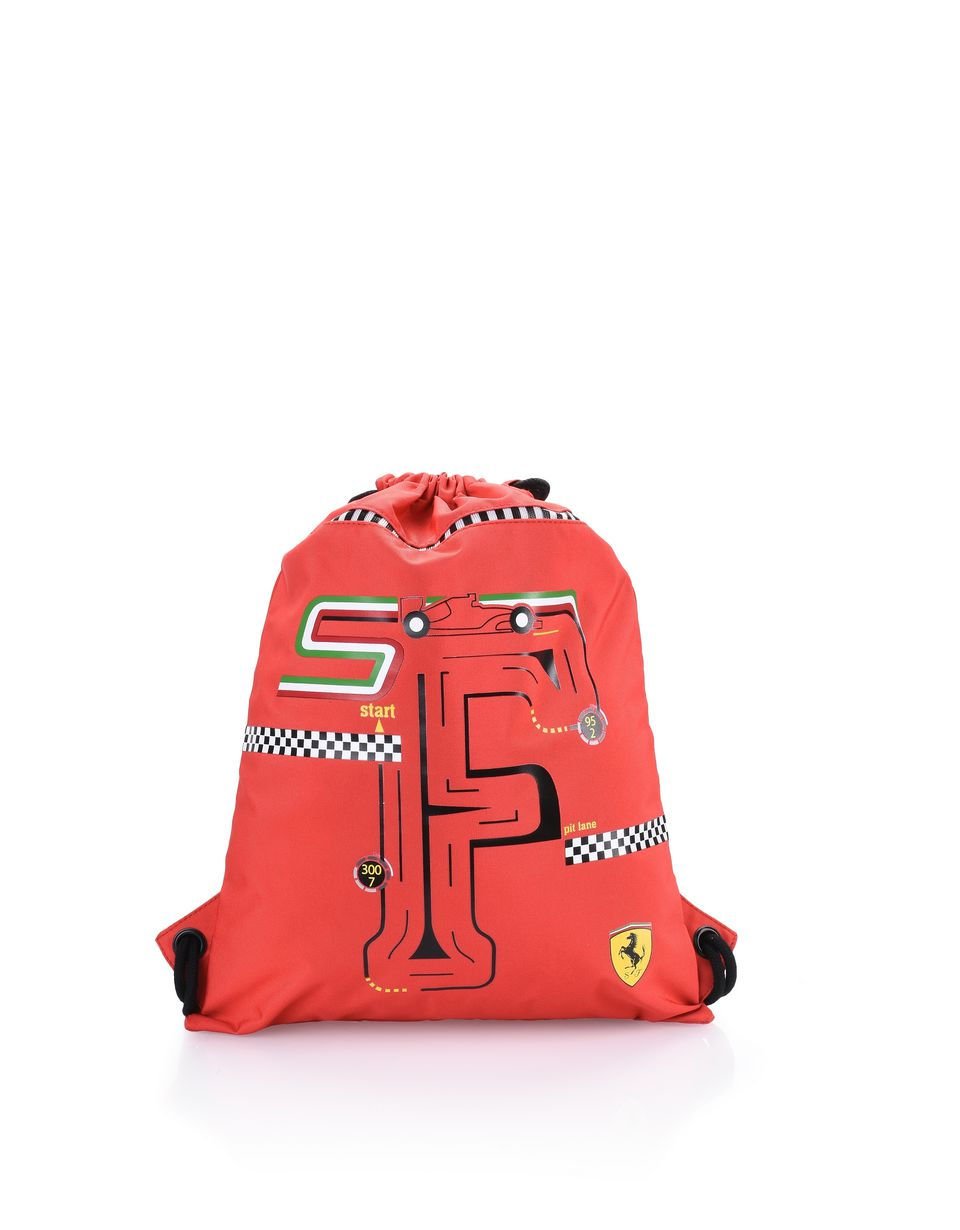 Scuderia Ferrari Online Store - Kids F-Racing drawstring backpack - Drawstring Bags