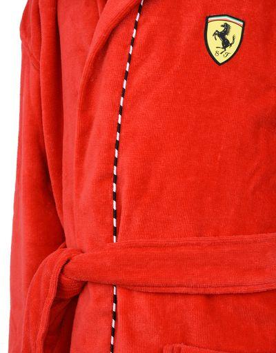 Scuderia Ferrari Online Store - Hooded dressing gown for teens - Bathrobe