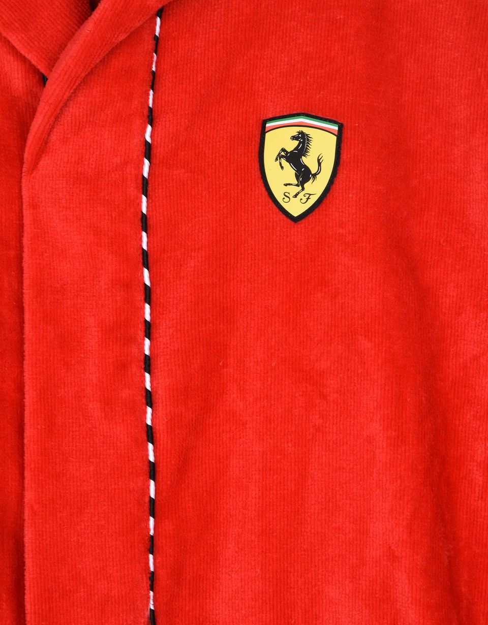 Scuderia Ferrari Online Store - Hooded dressing gown for children - Bathrobe