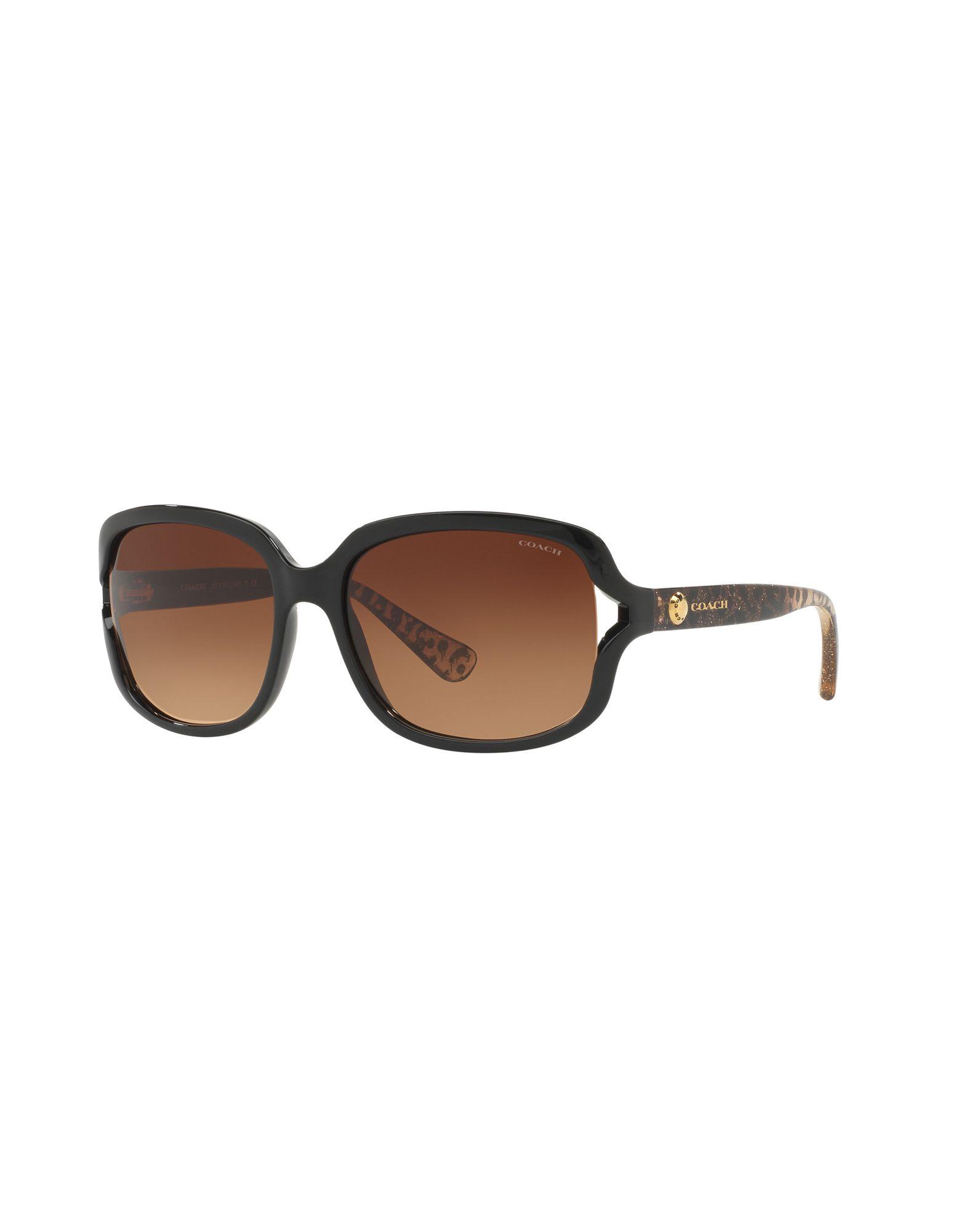 COACH Солнечные очки web eyewear солнечные очки