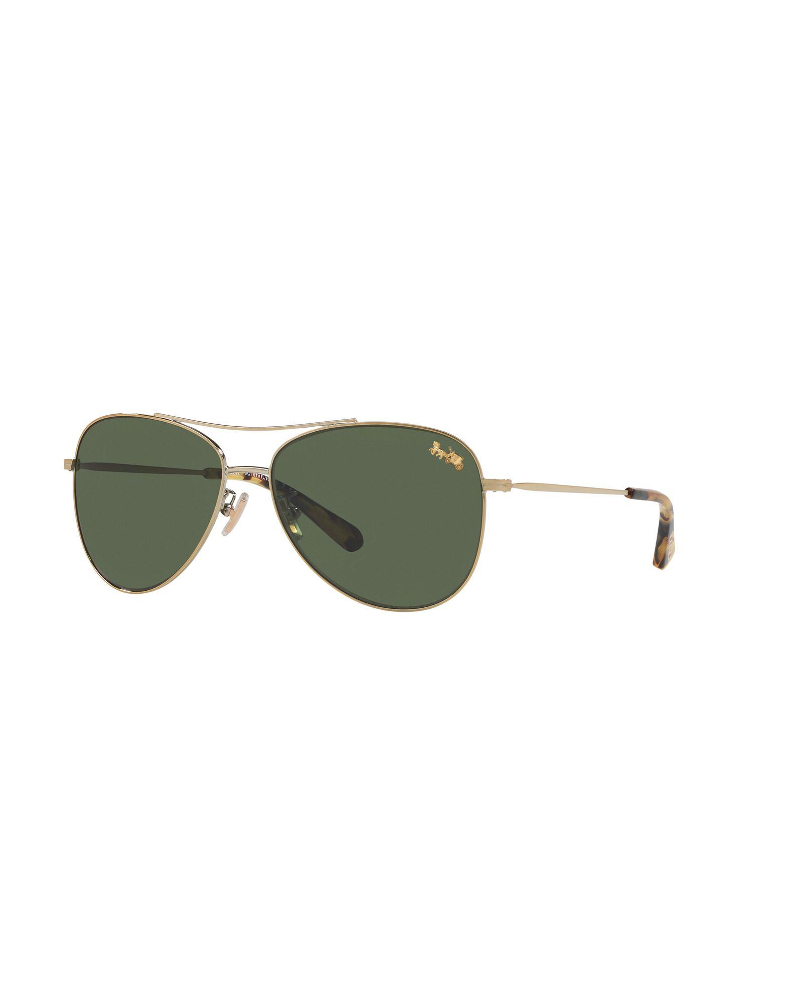 COACH Солнечные очки бусы из янтаря солнечные дни
