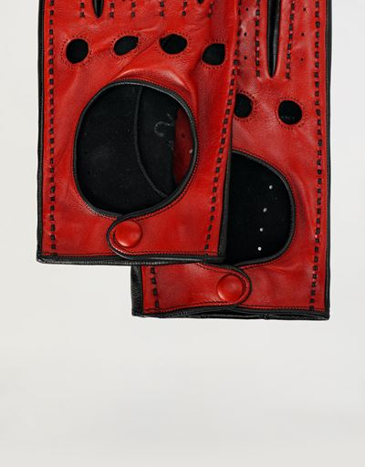 Men's driving gloves in nappa lambskin