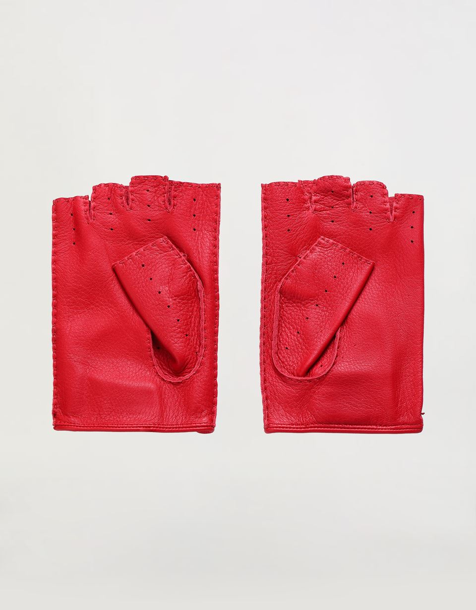 Scuderia Ferrari Online Store - Men's fingerless driving gloves -