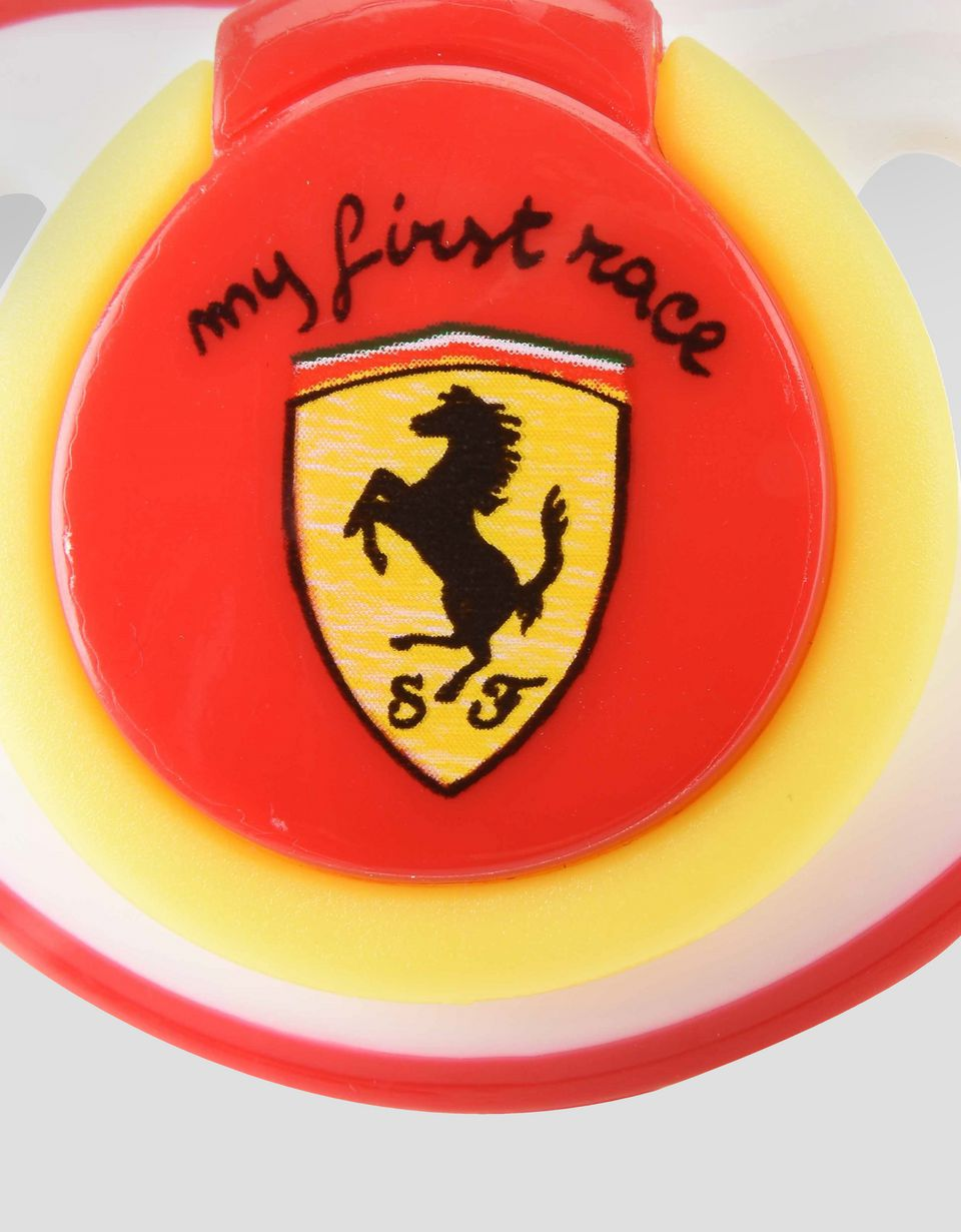 Scuderia Ferrari Online Store - 'My first race' silicone dummy - Soothers & Accessories