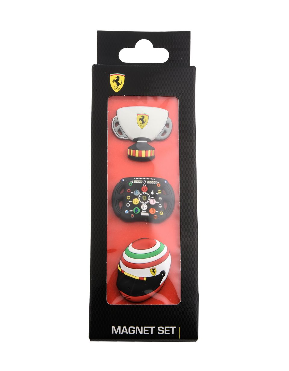 Scuderia Ferrari Online Store - Set magneti Scuderia Ferrari - Magneti