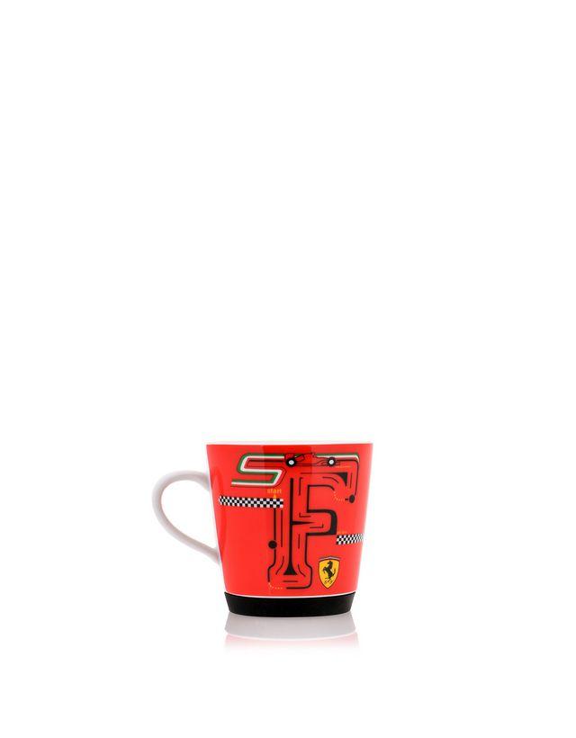Scuderia Ferrari Online Store - F-Racing non-slip porcelain cup for children - Mugs & Cups