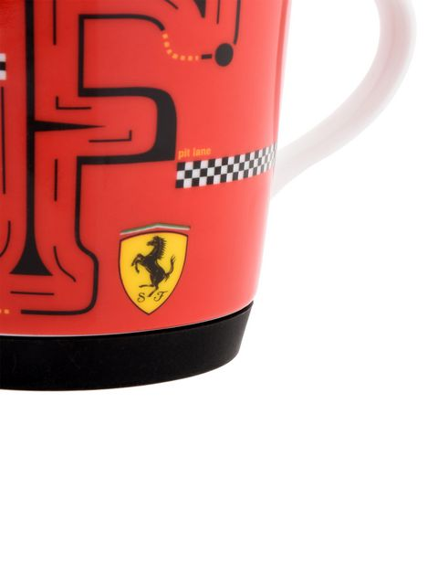 Scuderia Ferrari Online Store - F-Racing non-slip porcelain cup for children -