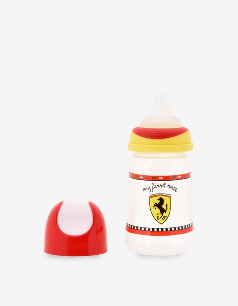 Scuderia Ferrari Online Store - My First Race plastic baby bottle - Soothers & Accessories