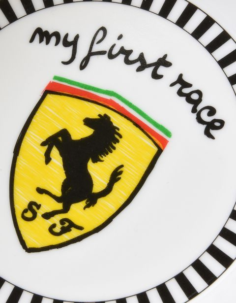 Scuderia Ferrari Online Store - Baby Scuderia Ferrari feeding set - Soothers & Accessories