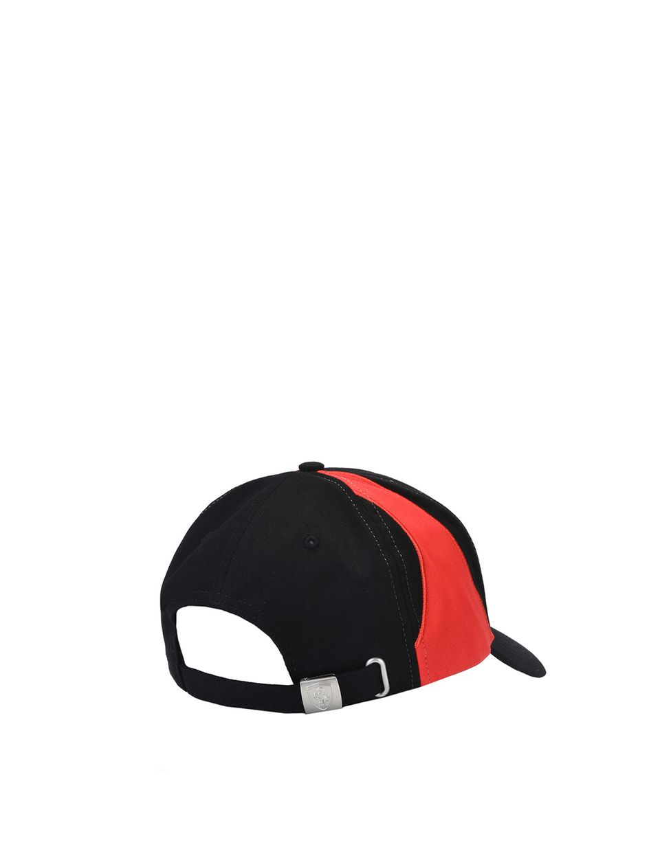 Scuderia Ferrari Online Store - Men's two-tone cap with Ferrari Shield - Baseball Caps