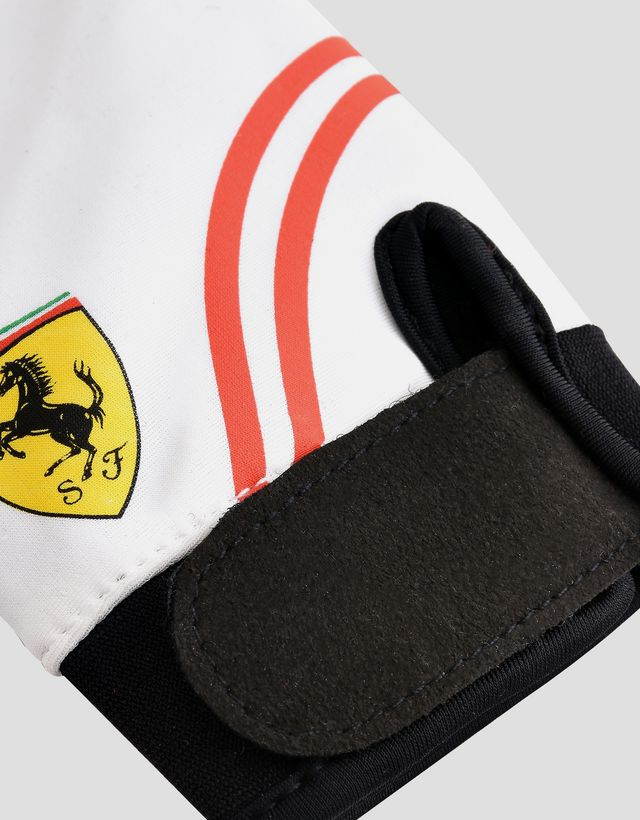 Scuderia Ferrari Online Store - Scuderia Ferrari racing driver gloves for children - Regular Gloves