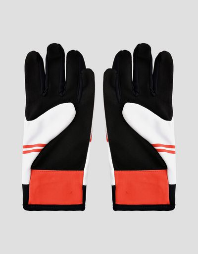 Scuderia Ferrari driving gloves for teens