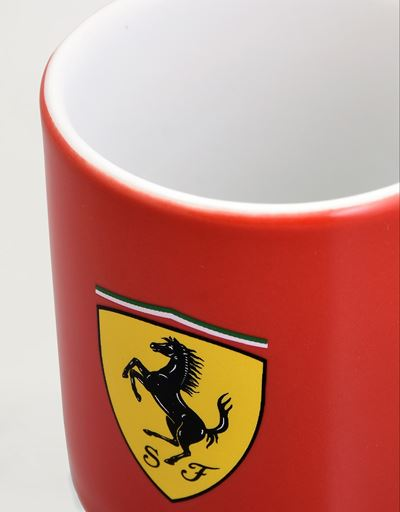 Scuderia Ferrari Online Store - Ensemble de tasses à café en céramique Scuderia Ferrari - Mugs et tasses