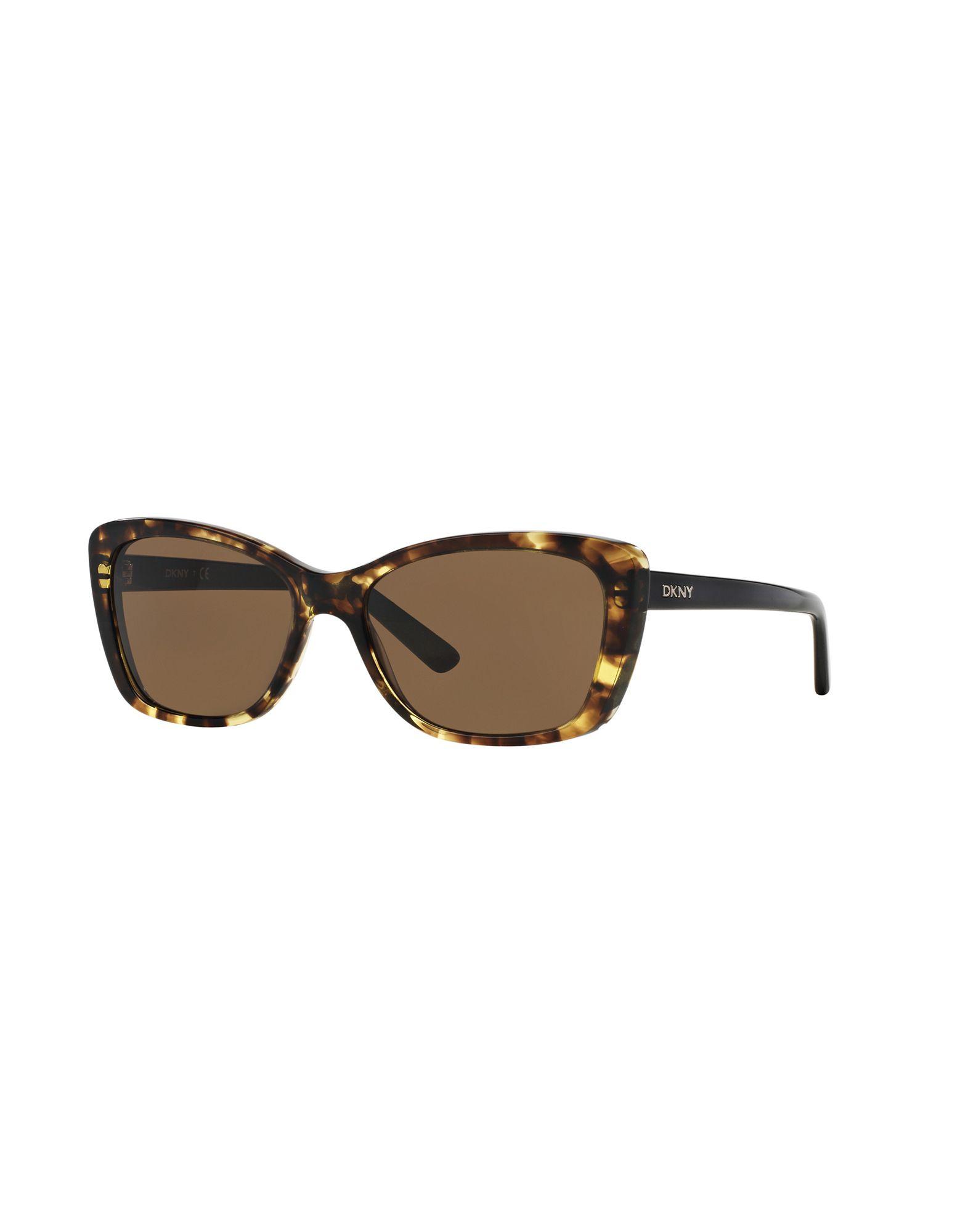 DKNY Солнечные очки бусы из янтаря солнечные ежики