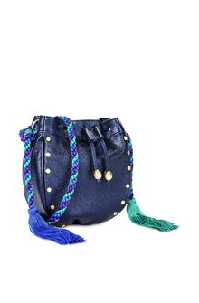 PHILOSOPHY di LORENZO SERAFINI Blue Melody bag BAG Woman d