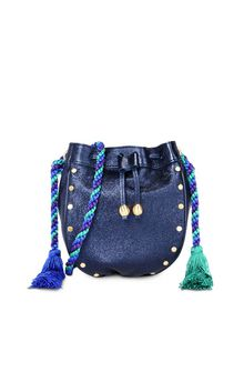 PHILOSOPHY di LORENZO SERAFINI Blue Melody bag BAG Woman f