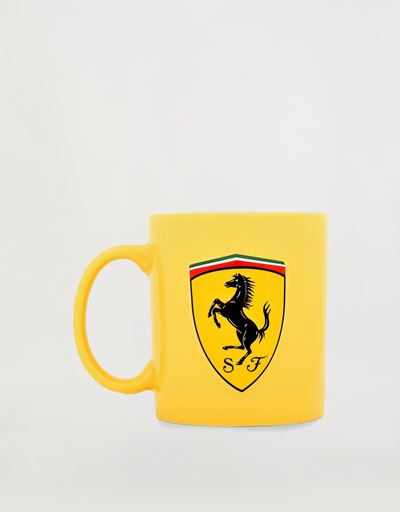 Large mug with 3D Ferrari Shield