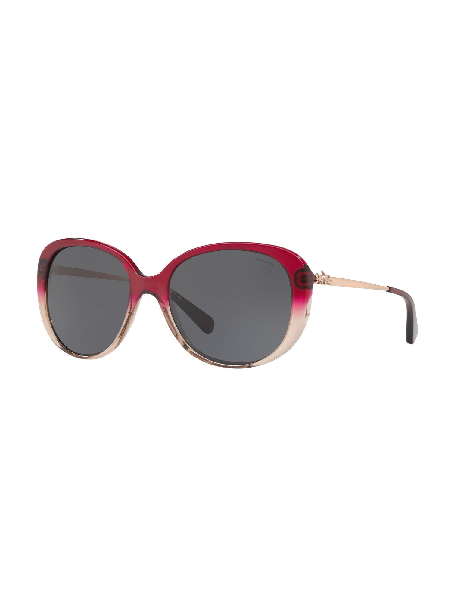 COACH Солнечные очки бусы из янтаря солнечные ежики