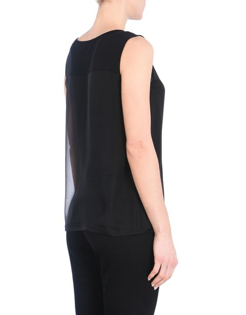 Women's sleeveless top with Ferrari Shield