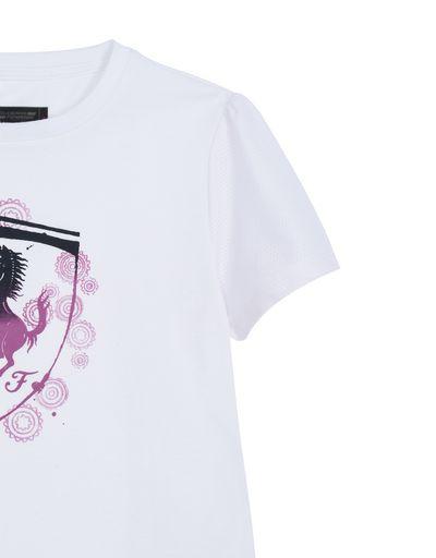 Scuderia Ferrari Online Store - Girls T-shirt with shield - Short Sleeve T-Shirts