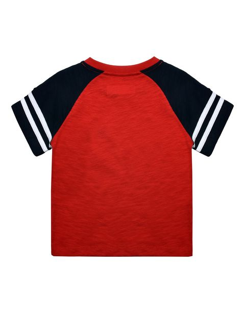 Kids T-shirt with printed patches