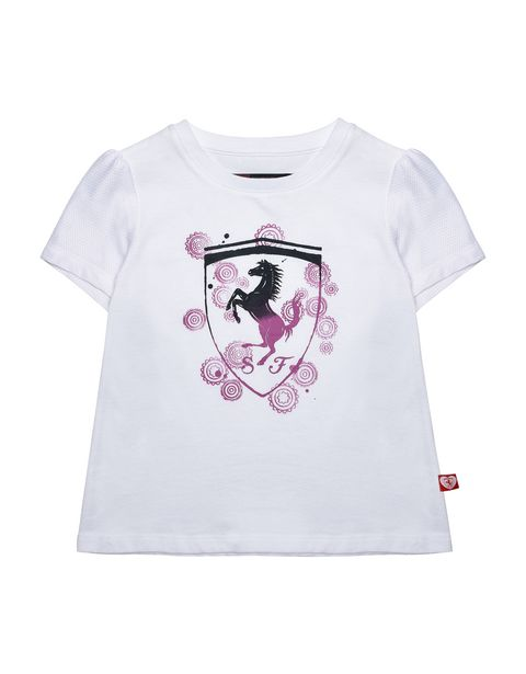 Girls T-shirt with shield