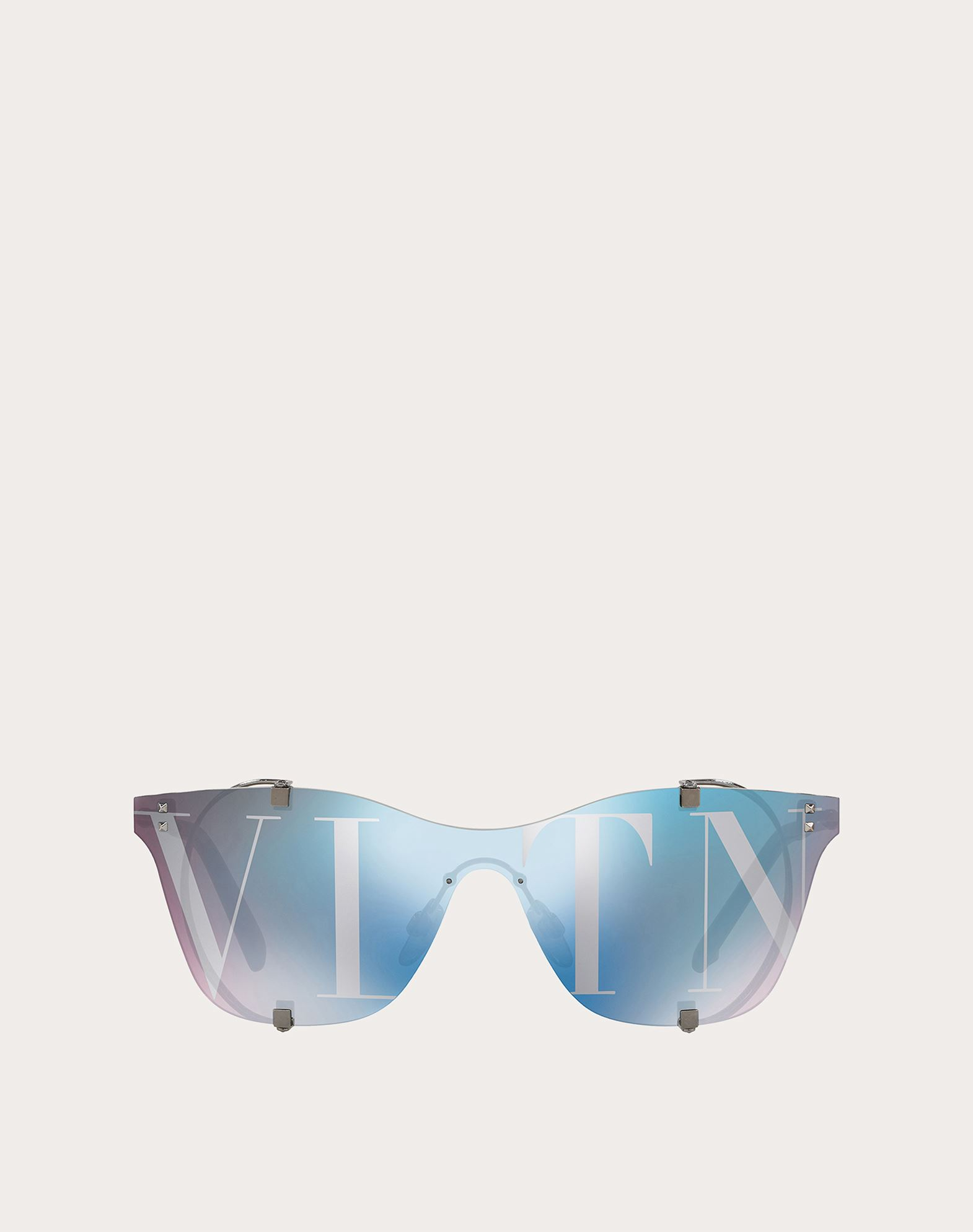 VLTN  FRAMELESS MIRRORED SUNGLASSES