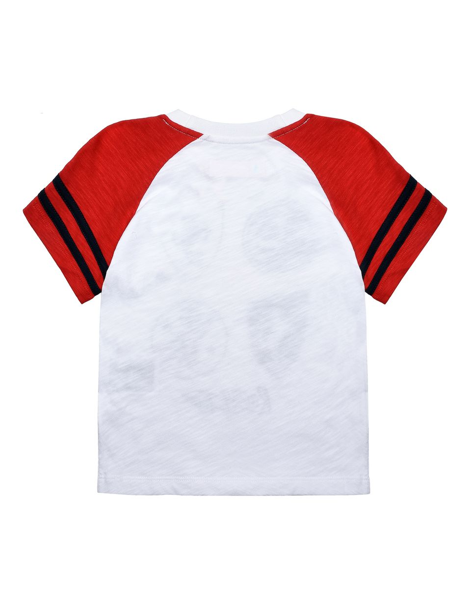 Scuderia Ferrari Online Store - Kids T-shirt with printed patches -