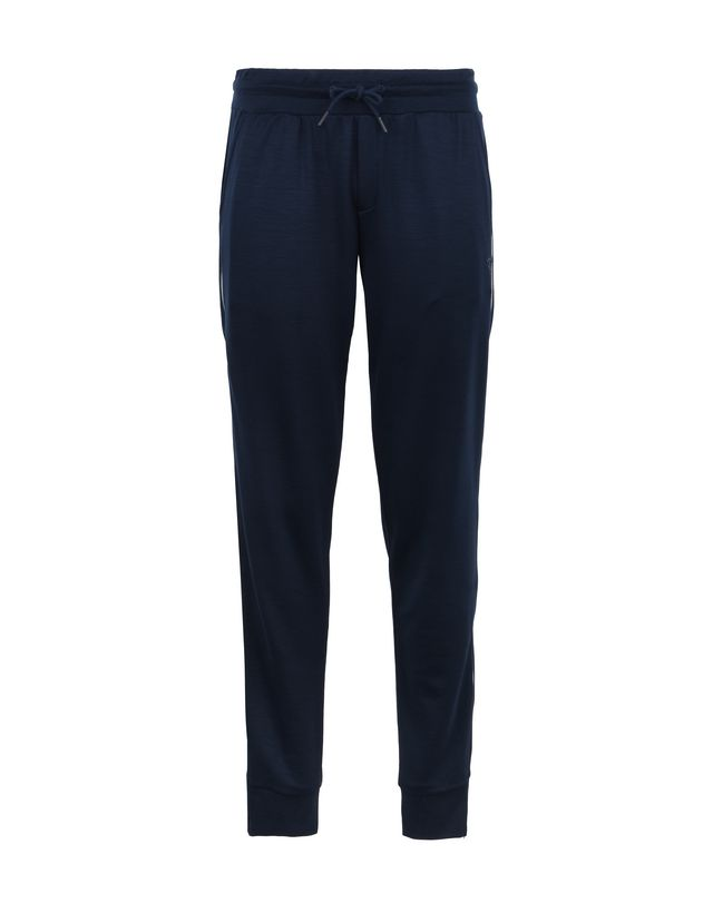 Scuderia Ferrari Online Store - Jersey trousers with metal zip on the legs - Joggers
