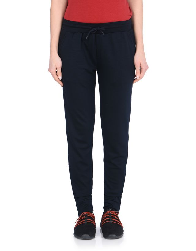 Scuderia Ferrari Online Store - Jersey pants with metal zipper on the legs - Joggers