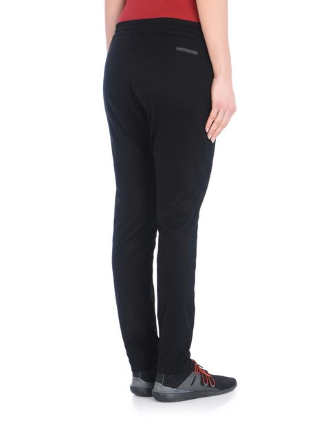 Cycling trousers with drawstring waist