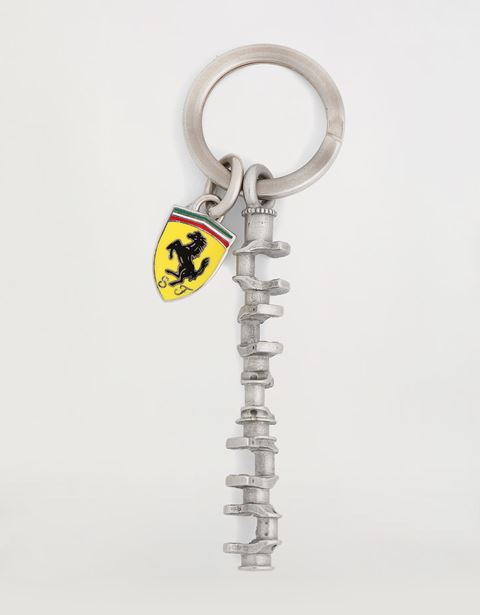 Scuderia Ferrari keyring commemorating the 2004 F1 season