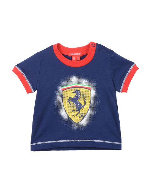 Baby boys Scuderia Ferrari T-shirt with Shield