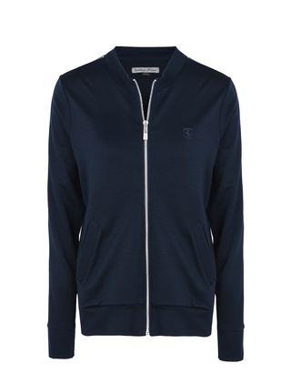 Scuderia Ferrari Online Store - Woman's jersey sweater with zipper -