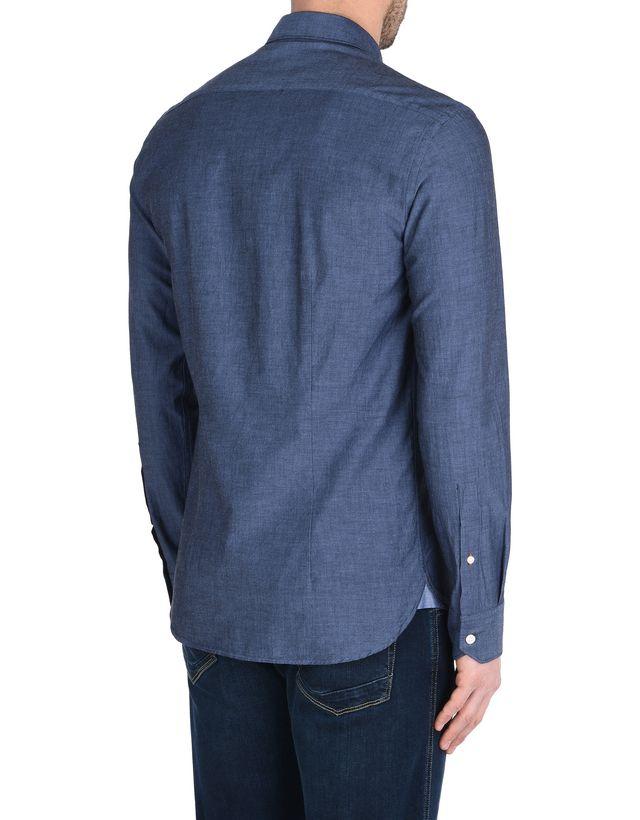 Scuderia Ferrari Online Store - Рубашка с длинными рукавами и французским воротником - Рубашки с длинными рукавами