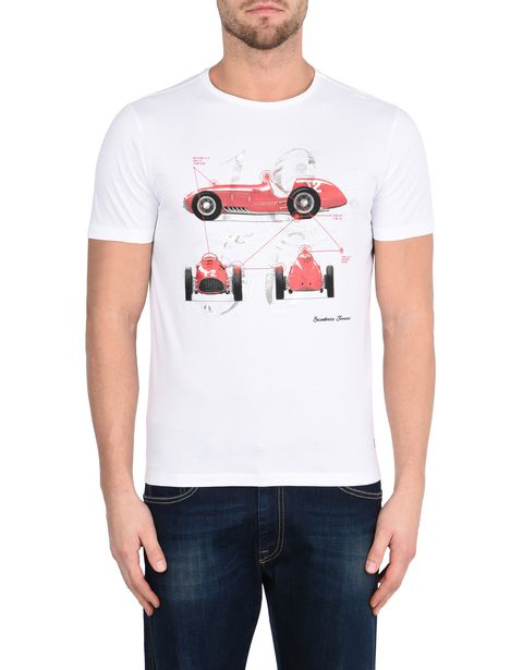 Men's Scuderia Ferrari crewneck T-shirt with Formula 1 print