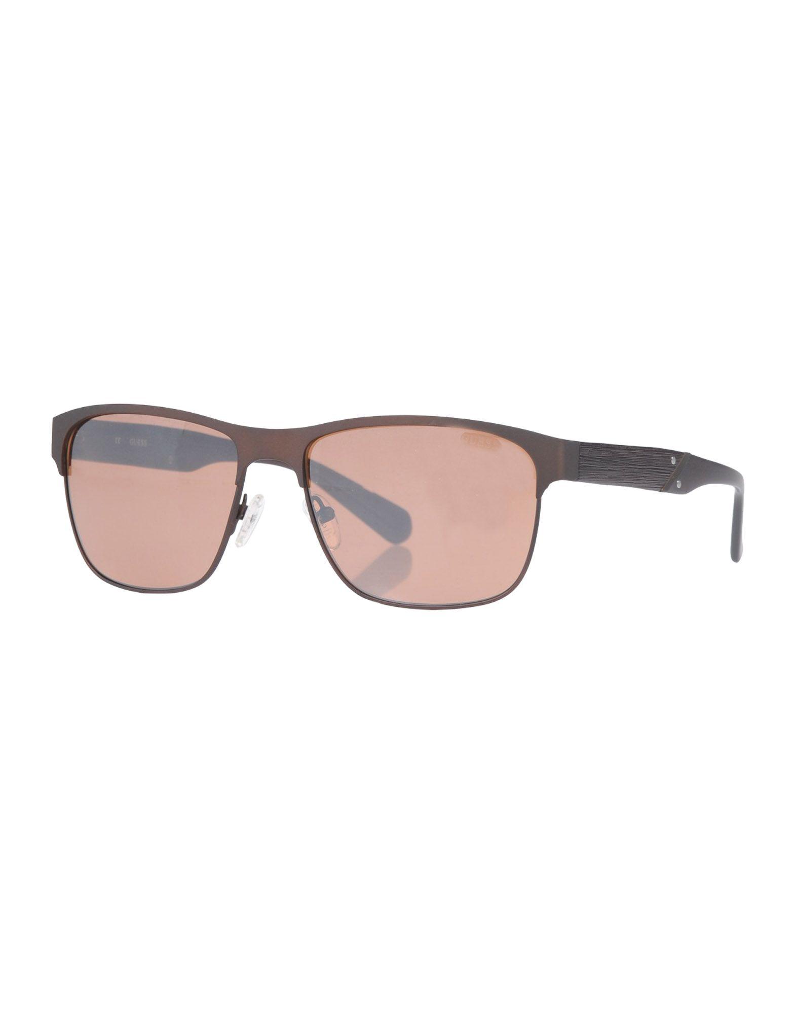 GUESS Солнечные очки очки для плавания aqua sphere kaiman exo зеркальные линзы цвет серебристый черный