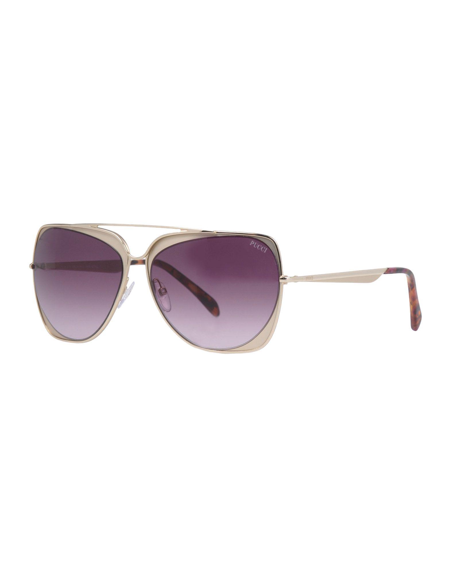 где купить EMILIO PUCCI Солнечные очки по лучшей цене
