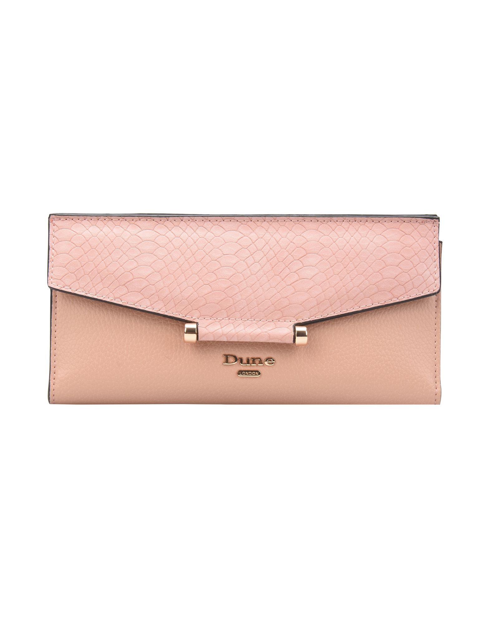 《送料無料》DUNE London レディース 財布 ローズピンク 紡績繊維 100% KATHEY