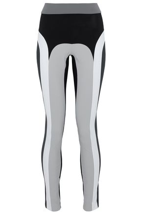 NO KA 'OI Color-block stretch leggings