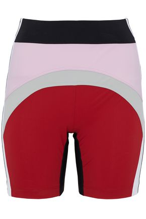 NO KA 'OI Color-block stretch shorts