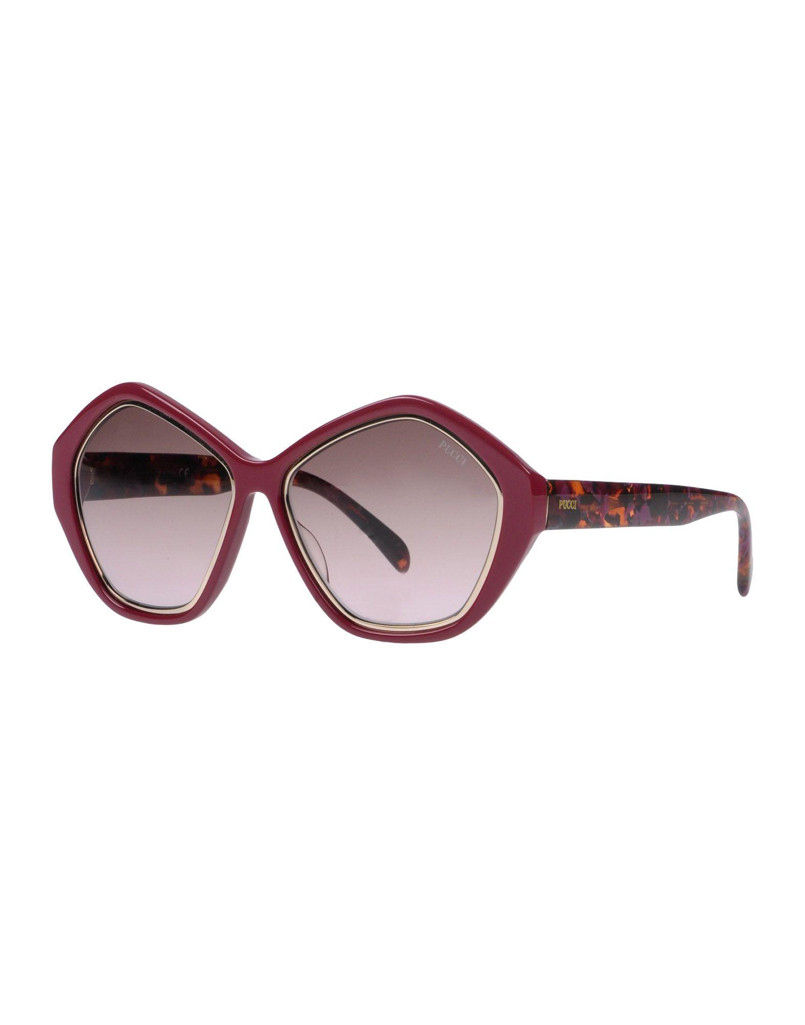 EMILIO PUCCI Damen Brille Farbe Purpur Größe 1