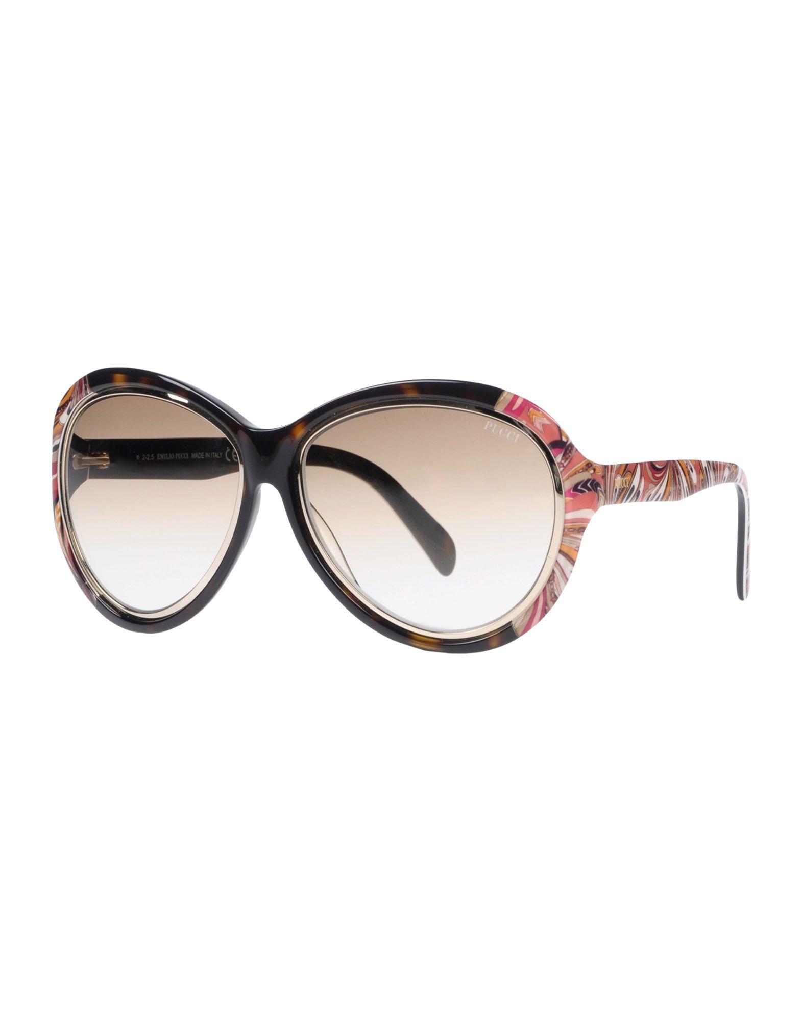 EMILIO PUCCI Солнечные очки солцезащитные очки