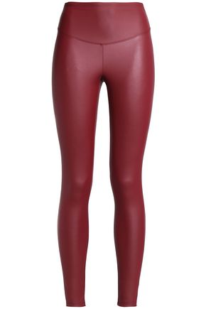 YUMMIE by HEATHER THOMSON Faux leather leggings