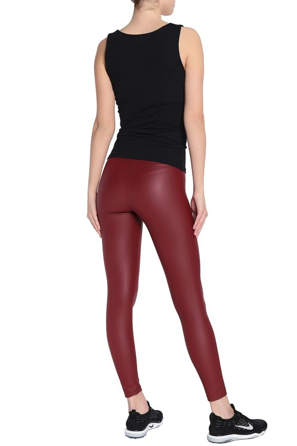 b8b46f2457888d Faux leather leggings | YUMMIE by HEATHER THOMSON | Sale up to 70 ...