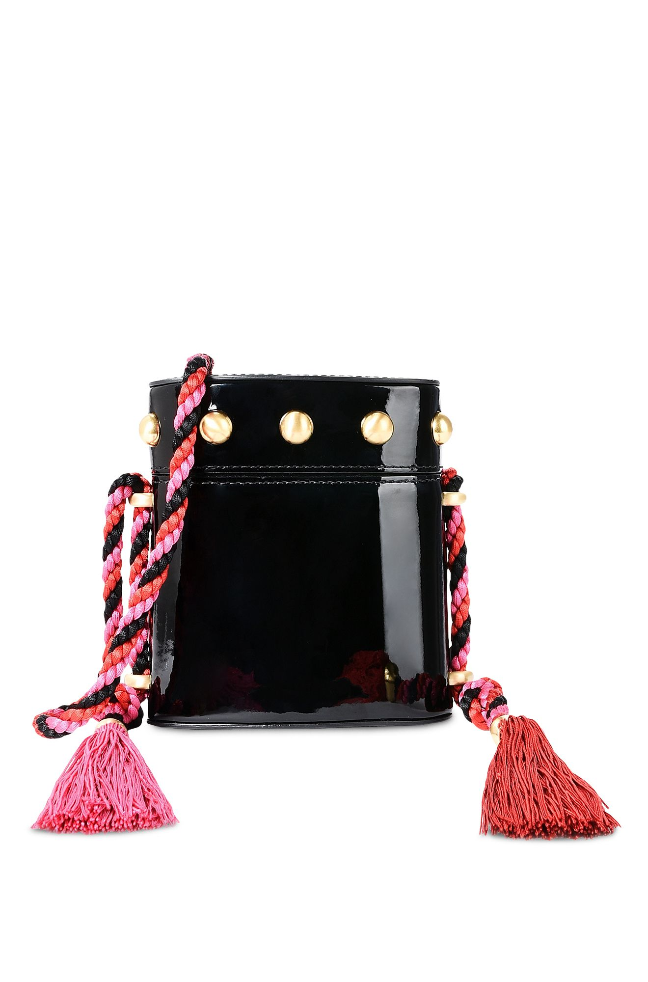 Mini bag vernice nera